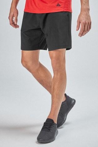 Black Next Active Sports Shorts