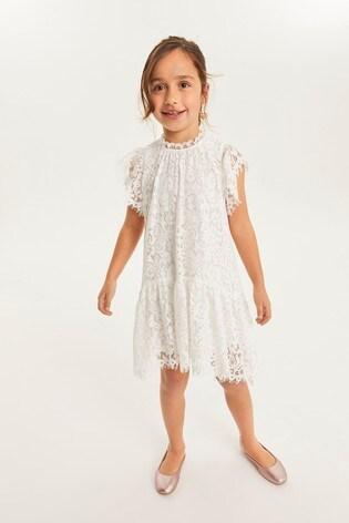Cream Lace Dress (3-16yrs)