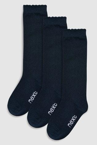 3 Pack Knee High Socks