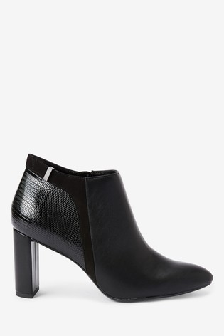 Black Forever Comfort® Mixed Material Boots