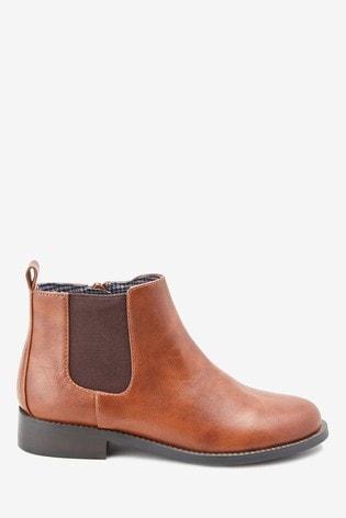 Tan Chelsea Boots (Older)