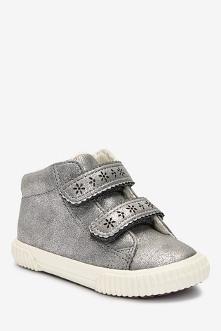 Silver High Top Boots (Younger)