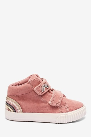 Blush Pink High Top Boots (Younger)