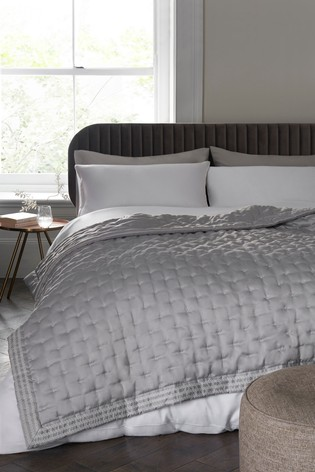 Sateen Quilted Bedspread