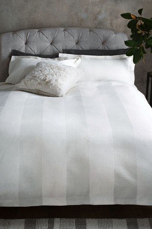 Waffle 300 Thread Count Collection Luxe 100% Cotton Duvet Cover And Pillowcase Set