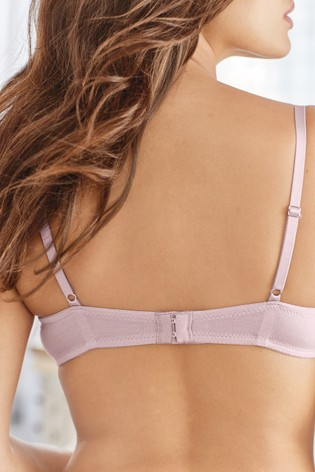 Lilac/Cream Push-Up Triple Boost Modal Mimi Bra Two Pack