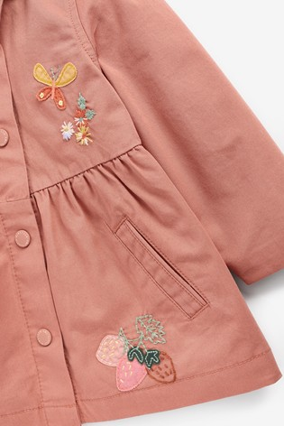 Rust Embroderied Jacket (3mths-7yrs)