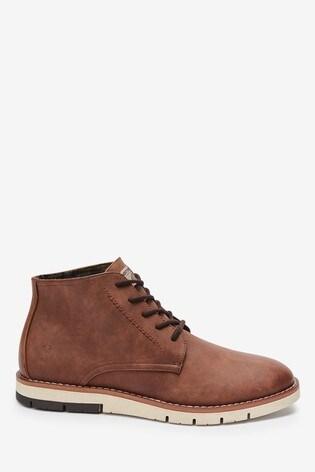 Tan Sport Chukka Boots