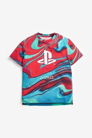 Red PlayStation™ T-Shirt (3-16yrs)