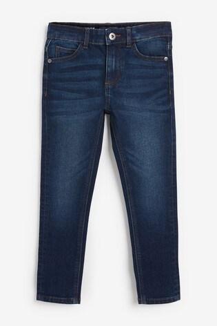 Indigo Skinny Fit Five Pocket Jeans (3-16yrs)