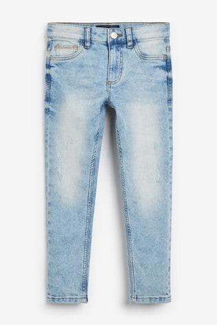 Bleach Skinny Fit Five Pocket Jeans (3-16yrs)