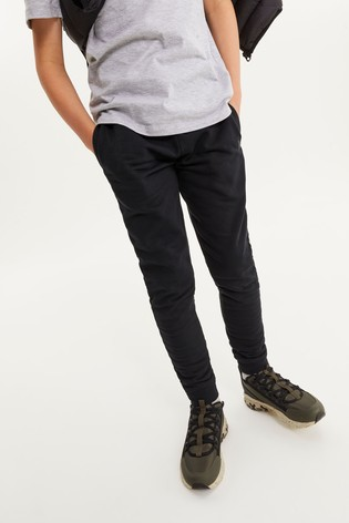 Black Skinny Fit Cuffed Joggers (3-17yrs)
