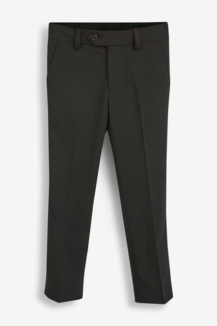 Black Skinny Fit Suit Trousers (12mths-16yrs)