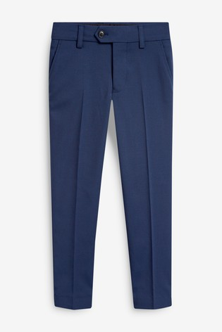 Navy Skinny Fit Suit Trousers (12mths-16yrs)