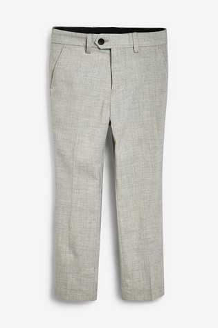 Grey Tailored Fit Suit Trousers (12mths-16yrs)