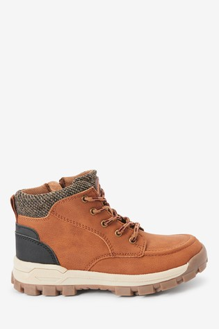 Tan Apron Walking Boots (Older)