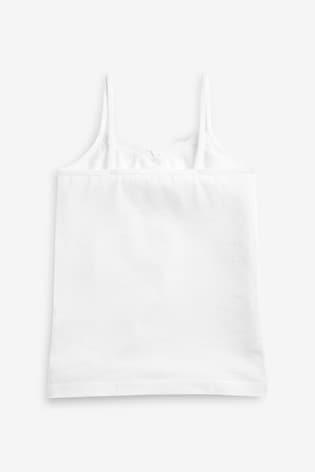 White 3 Pack Cami (1.5-16yrs)
