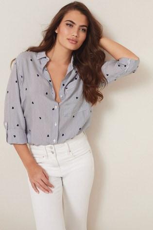 Stripe Heart Shirt