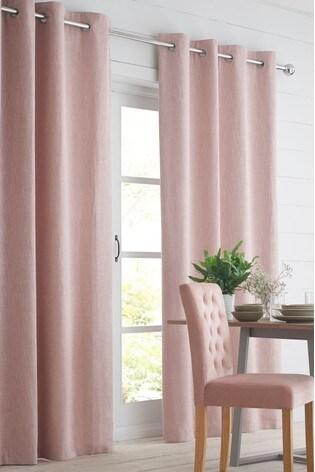 Bouclé Eyelet Blackout/Thermal Curtains