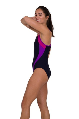 Speedo® Spliced Muscleback Swimsuit