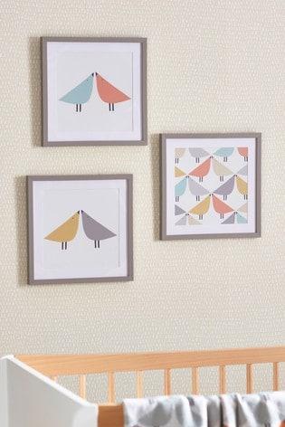 Set of 3 Scion Living At Next Framed Prints