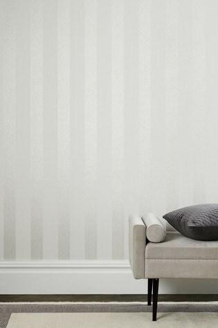 Vinyl Glitter Stripe Wallpaper