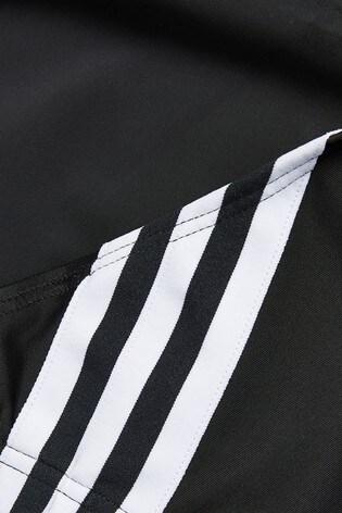 adidas Black Two Piece 3 Stripe Bikini