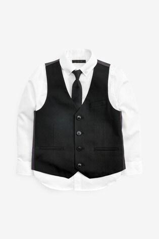 Black Waistcoat Set (12mths-16yrs)