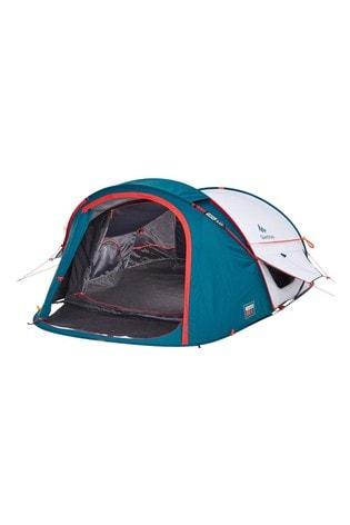 Decathlon Camping Tent 2 Seconds Xl Fresh & Black 2 Person Quechua