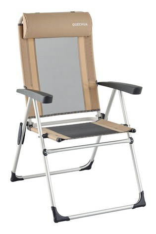 Decathlon Folding Camping Chair Reclinable Comfort Quechua