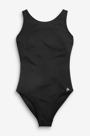 Black Sports Swimsuit