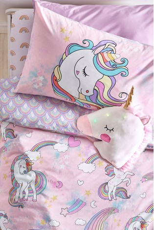 Unicorn Duvet Cover and Pillowcase Set