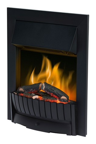 Dimplex 2kW Clement black Electric Optiflame Inset Fire