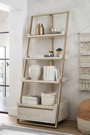 Amsterdam Light Storage Ladder Shelf