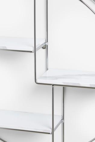 Marble Effect Multi Shelf