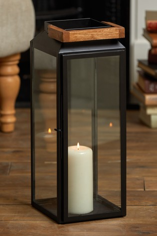 Buy Bronx Tall Lantern From The Next Uk Online Shop