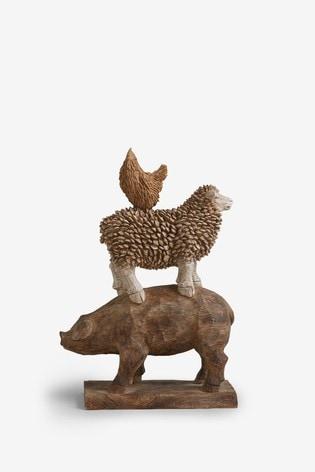 Stacking Farm Animals Ornament