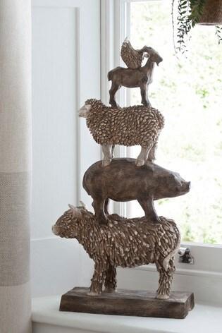 XL Stacking Farm Animal Ornament