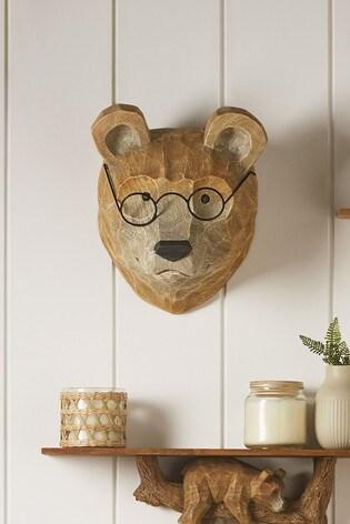 Bear Wall Plaque