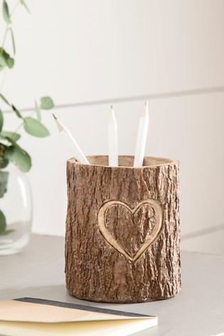 Heart Pen Pot