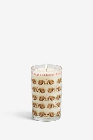 Lemon & Bergamot Hedgehog Candle