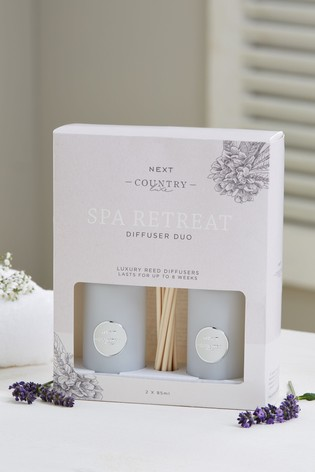 Spa Retreat Country Luxe Set Of Diffuser