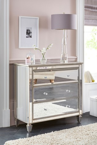 Fleur 3 Drawer Chest