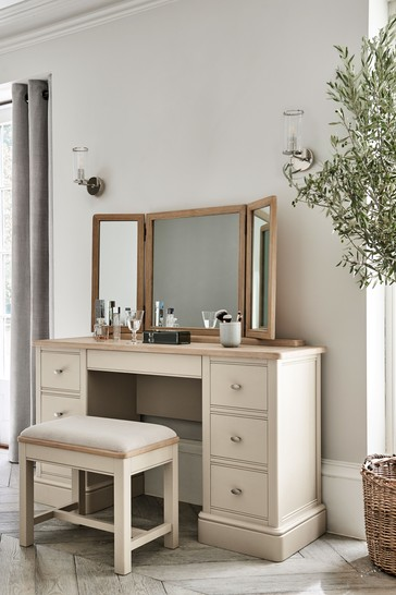 Hampton Country Luxe Storage Dressing Table