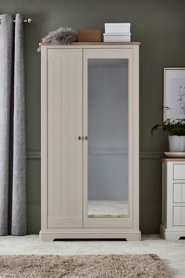 Hampton Mirrored Wardrobe