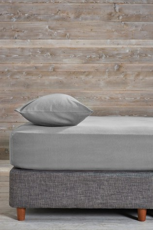 100% Cotton Supersoft Brushed Fitted Sheet