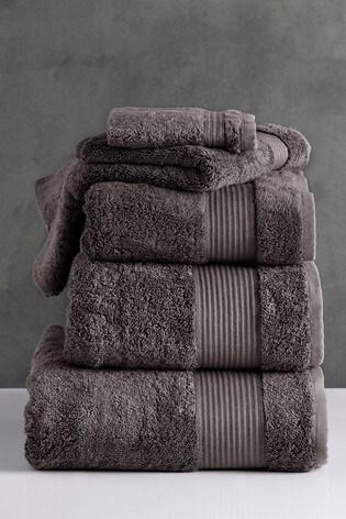 Luxury 600 GSM 100/% Egyptian Cotton GEO Towel Hand Bath Sheet Bathroom Set