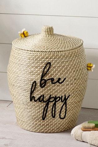 Bee Hive Laundry Bin