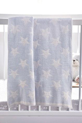 Soft Touch Chenille Star Blanket