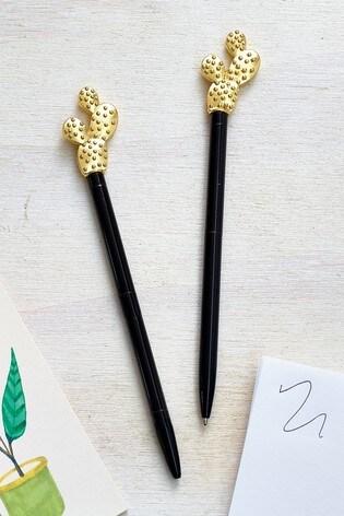 Set of 2 Cactus Pens